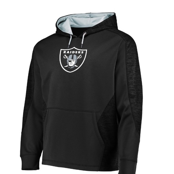 low priced 41445 6831d NFL Majestic Raiders Hoodie NWT